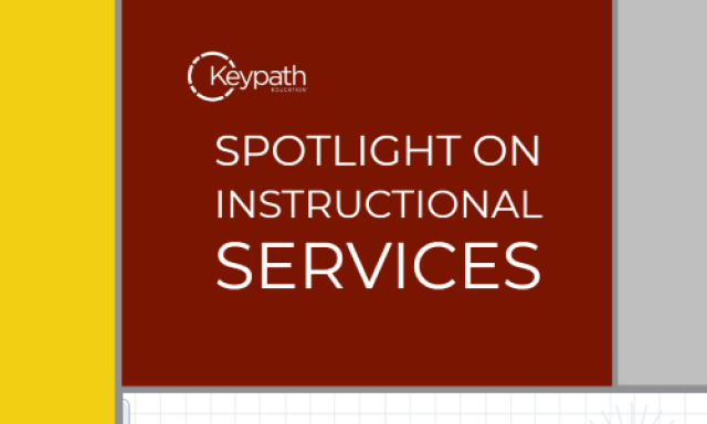 Keypath Education Blog Instructional Services May 2019